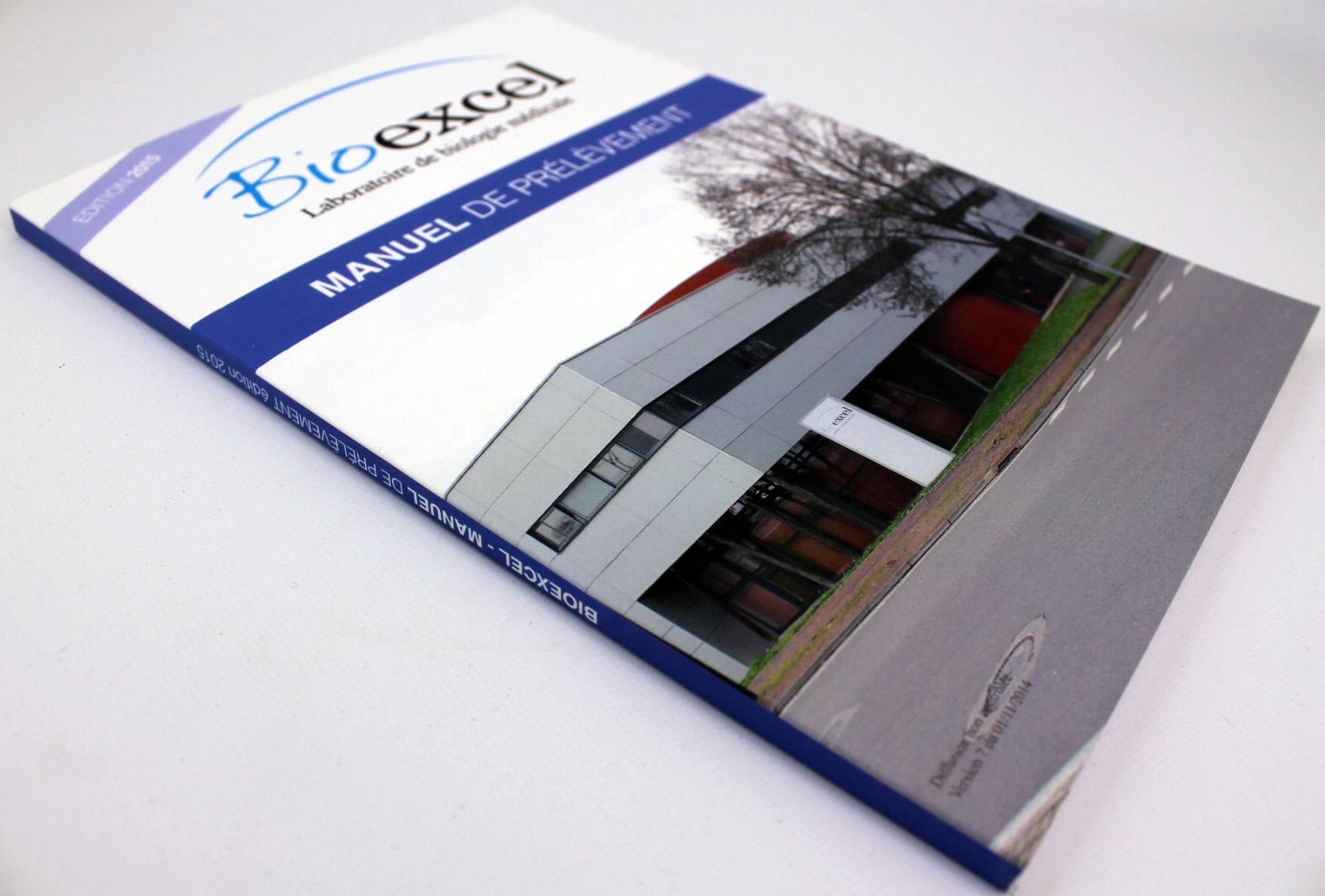 brochure dos carré-collé Laboratoire Bioexcel Saint Doulchard