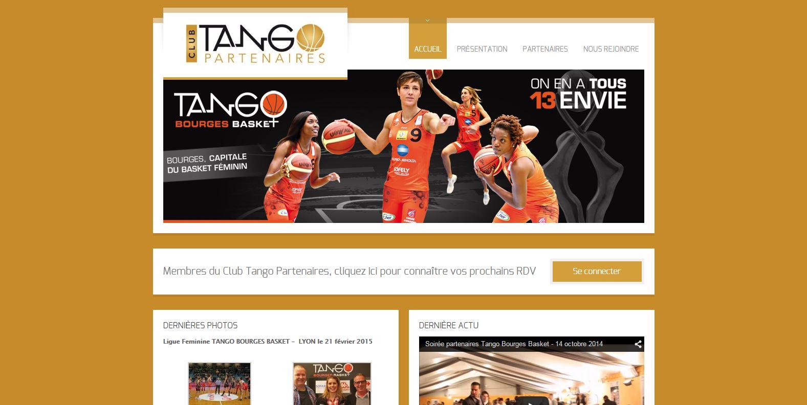 Club Business partenaires du club professionnel Tango Bourges Basket - www.clubtangopartenaires.com