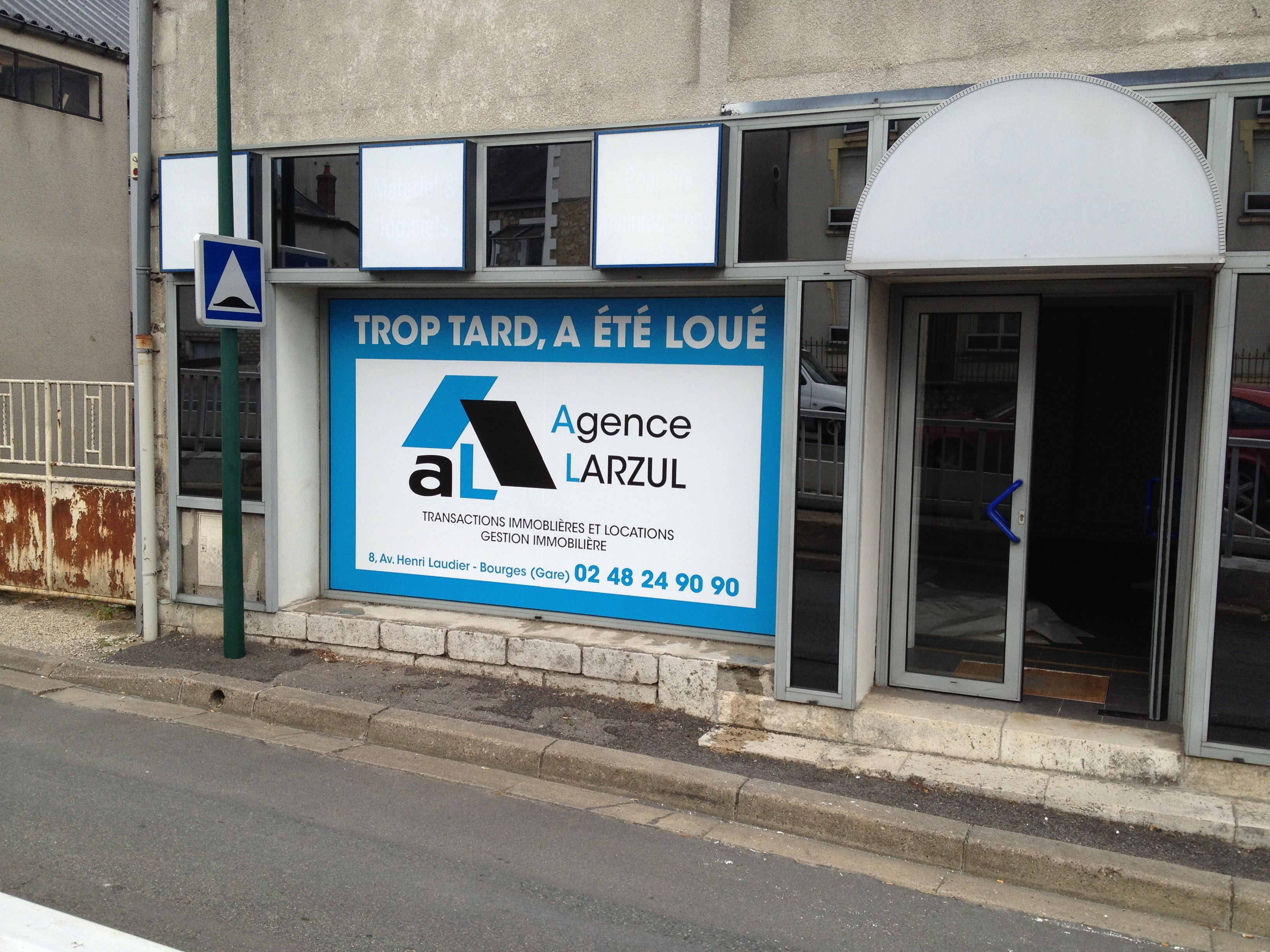 total covering agence Larzul Bourges