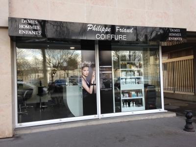 adhésif contre-collé sur Dybond (vitrine en polymère plastifié) Philippe Friaud Bourges