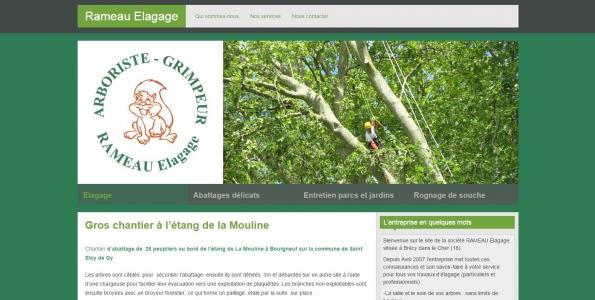 société d'élagage - département du Cher - www.rameauelagage.com