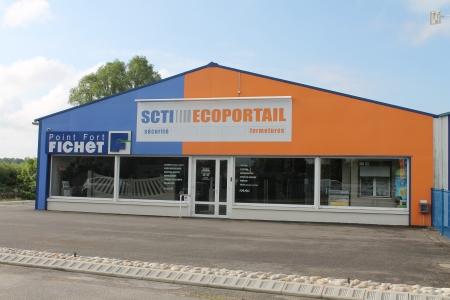 façade en PVC 10mm impression directe SCTI ECOPORTAIL Saint Doulchard