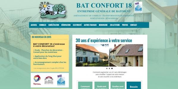 entreprise générale du bâtiment - Bat Confort 18 - www.bat-confort-18.com