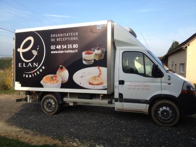 camion frigorifique Elan Traiteur