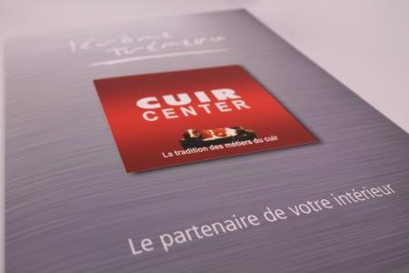 pochette à rabat A4 fermé Cuir Center Bourges