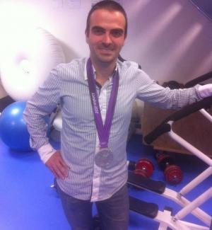 Médaille d'argent aux JO de Londres 2012 ! Merci Endy Miyem ;-)