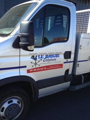 camion benne Stéphane Le Moigne