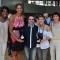 Endy Miyem, Emmeline Ndongue, Cyril Auclin, Céline Dumerc et Valérie Garnier. Vice Championnes Olympique London 2012