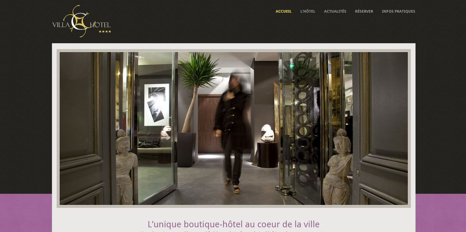 hôtel 4 étoiles - La Villa C - Bourges - www.hotelvillac.com