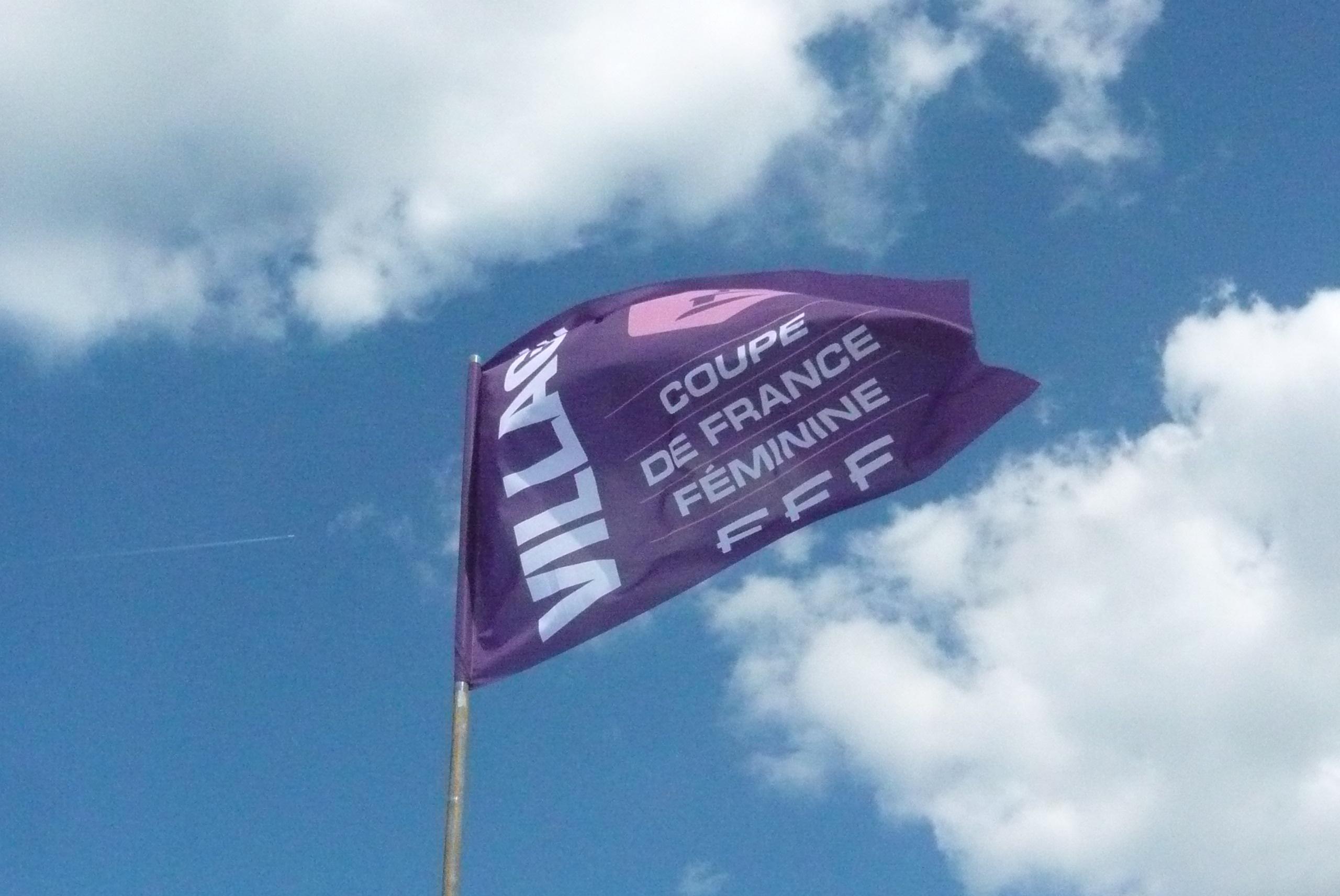 drapeau toile nautique Fédération Française de Football
